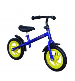 OTLIVE 12-Inch Toddler Balance Training Bike for Boys or Girls (no pedal)-Blue and Pink