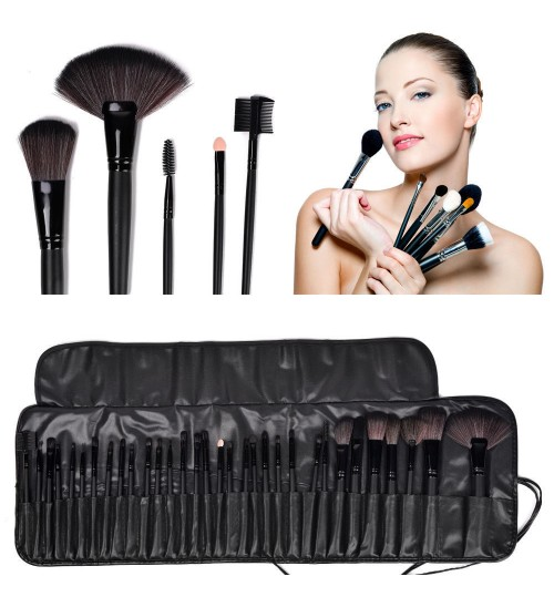 Professional Soft Cosmetic Bag,Discount Makeup Brush Tool Set Kit Bag